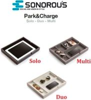 Sonorous park charge duo - organizér dve priehradky čierny